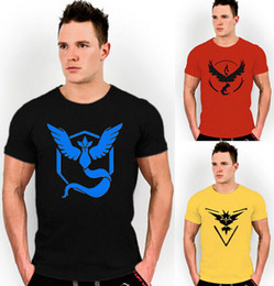 Barato Montagem De Aparência-New Six Color Mens T Shirt Slim Fit Crew Neck T-shirt Homens Camisa de manga curta Casual tshirt Tee Tops Team Mystic Mens Short Shirt
