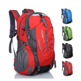 China New Waterproof Nylon Hiking Backpack Outdoor Sports Bag Rucksack Mountaineering Bag Men's Travel Bags Back pack supplier back pack outdoor suppliers
