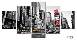 $enCountryForm.capitalKeyWord UK - 2016 Hot Sales Without Frame 5 Panels Picture New York City HD Canvas Print Painting Artwork Wall Art Canvas painting Wholesale