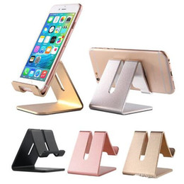 $enCountryForm.capitalKeyWord Australia - Universal Aluminum Metal Holders Tablet Ipad Phone Holder Desk Stand Support for iPhone 8 Plus Samsung s8 plus PC