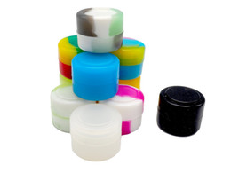 Cheap waxing online shopping - STOCK in Los Angeles USA X FDA ml mini rich color cheap Wax Jars Dab Silicone Container