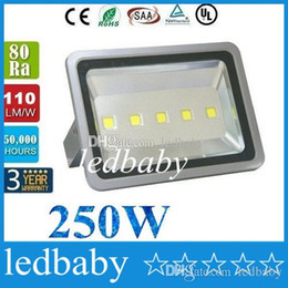 Cree Canopy lights online shopping - 250W Led Gas Station Canopy Lights Waterproof Led Outdoor Floodlights LM X50W CREE Led Flood Lights Warm Cold White AC V