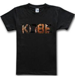 f4bc6e98d78 Kobe Bryant Man T Shirt Basketball Star KOBE Print Fitness Sport Jersey Men  Shirts Cotton Short Sleeve Tops Tees AMD247