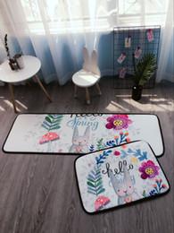 Living Room Carpet Scandinavian Thick Non Slip Bedroom Door Mat Kitchen Bathroom Mats Home