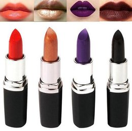 $enCountryForm.capitalKeyWord Canada - Waterproof Long Lasting Lip Gloss Vampire Style Makeup Purple Gold Black Red Lipstick Matte Lip bloodsucker Dark Color Beauty