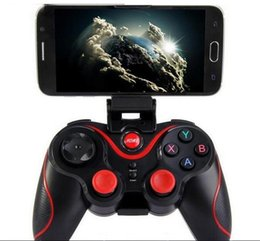 $enCountryForm.capitalKeyWord UK - Terios T3 Wireless Bluetooth Gamepad Joystick Game pad Gaming Controller Remote Control for Samsung S7 S8 Android Smart phone Tablet TV Box