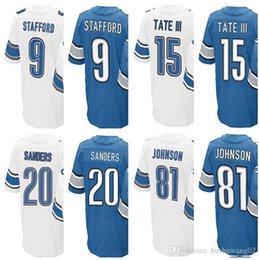 f0d69d4d3e6 ... Cheap 21 Mens Detroit Lion Jersey 9 Matthew Stafford 15 Golden Tate III  20 Barry Sanders 81 Calvins Mens Nike ...