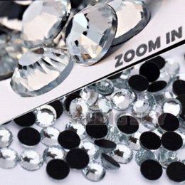Venta al por mayor de AA calidad SS34 7.0-7.2 mm, 144 unids / bolsa Clear Crystal DMC HotFix Flatback Rhinestones strass para DIY transferencia de calor Hot Fix piedras M67895