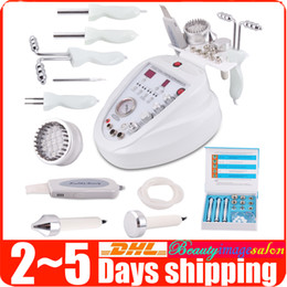 Machine À Microdermabrasion Au Diamant 5in1 Pas Cher-Promotion 5in1 Diamond Microdermabrasion Dermabrasion Led Photon Skin Scrubber BIO Micro-courant Facial Care Anti-âge Spa Beauty Machine