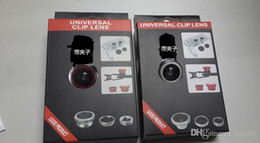 universal phone camera lens Australia - Universal mobile phone camera. External effects Self shots. Wide-angle lens + macro + fisheye triple self-timer lens 50pcs a bag