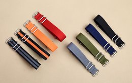 $enCountryForm.capitalKeyWord Canada - NATO Nylon Watch Strap Military Canvas 5 Colors 20mm 22mm 24mm Watch Belt Nylon Weave Quality Men Women Watches Band Factory Customized