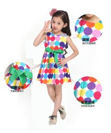 $enCountryForm.capitalKeyWord Canada - Dot Princess Dresses Girls Birthday Party Outfit Girls Bow Dresses Red Dot Kids Babies Korean Style Suspender Dress Children's clothing