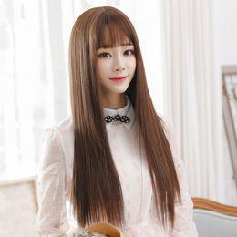 $enCountryForm.capitalKeyWord NZ - European Virgin hair 100% human hair silky straight wig full lace Wigs bud silk 5.5 * 5.5 weaving all filled my shoelaces human hair wigs