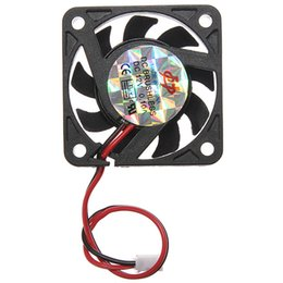 $enCountryForm.capitalKeyWord NZ - Wholesale- 2017 Brand New Mini Brushless PC Computer Case Cooling Fan 12V Low Noise For CPU Radiating For Desktop PC Factory Price