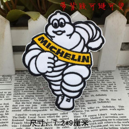 $enCountryForm.capitalKeyWord Australia - 2.8 inch hot sale! Wholesale Michelin Embroidered Iron On Patch Applique Badge KIDS sew on patch Applique GP-036