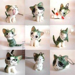 Новый милый японский maneki neko Сыр кошка цепь повезло кошка сотовый телефон подвески подвески аксессуары для iphone 4 5S брелки аксессуары 2138