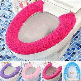 cushioned toilet seat covers. New Fashion Household Soft Toilet Seat Cover Washable Mat with  Zipper Warmer Cushion Discount Covers 2018
