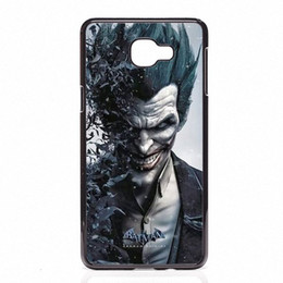 Chinese  marvel Batman joker Phone Covers Shells Hard Plastic Cases For Samsung Galaxy A3 A5 A7 A8 2015 2016 2017 manufacturers
