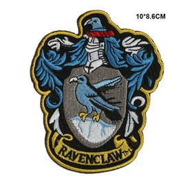 Barato Remendos De Ferro Harry Potter-Harry Potter Ravenclaw Iron on Patches Embroidery Patches 10pca muito 001
