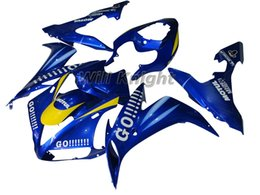 $enCountryForm.capitalKeyWord Canada - Motorcycle Frame Injection Mold Complete Body Fairing Kit for YZF1000 YZF R1 2004 2005 2006 ABS Injection Body Fairing Kit Blue Yellow