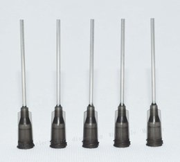 Hot melt fiber online shopping - Dispensing Needle W ISO standard helix luer lock Blunt Tip ga x quot Tip