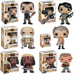 $enCountryForm.capitalKeyWord NZ - The Walking Dead PVC Action figure Rick Daryl Michonne Glenn Negan Hershel Collectible Model Toys Christmas Gift