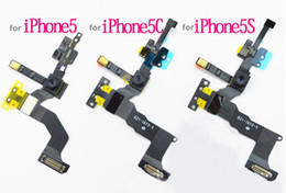 camera 5s UK - 1pcs for iphone 4 5 5g 5C 5S 5SE 6 6 Plus Replacement Proximity Sensor Light Motion Front Face Camera Microphone Flex Cable