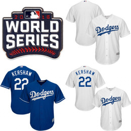... new zealand youth kids 2016 world series dodgers jersey 22 clayton  kershaw 23 adrian gonzalez 31 abac7bba408