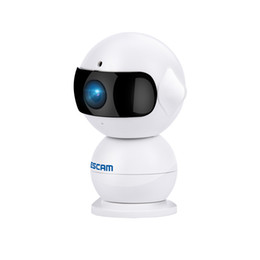 Infrared Day Night NZ - Escam Elf QF200 WIFI IP Camera HD 960P 1.3MP Indoor Infrared Day Night Vision Alarm Security Wireless Camera Support 64G TF Card