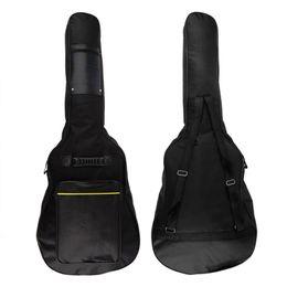 """$enCountryForm.capitalKeyWord NZ - 40"""" 41"""" Acoustic Guitar Double Shoulder Straps Padded Guitar Soft Case Gig Bag Backpack Pockets 5mm Cotton Padded Gig Bag Case"""