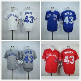 ffb0bd6a676 ... Flexbase Authentic Collection Stitched MLB Jersey Blue Jays 43 R.A.  Dickey Jersey Stitched Top Quality Men Toronto Blue Jays R A Dickey  Baseball ...