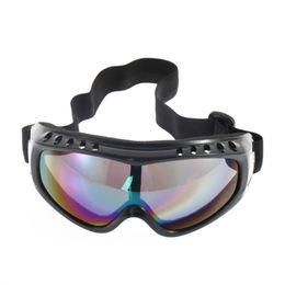 5fd1302b1d Gafas de sol motocicleta a prueba de polvo Motocross Ski Snowboard Moto  Gafas Lente marco gafas