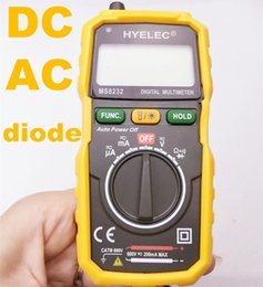 Ac Voltmeter Tester Canada - by DHL FEDEX Multifunction Digital Multimeter DC AC Voltmeter Temperature Tester