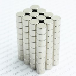 $enCountryForm.capitalKeyWord Australia - Wholesale - In Stock 50pcs Strong Round NdFeB Magnets Dia 5x4mm N35 Rare Earth Neodymium Permanent Craft DIY Magnet Free shipping