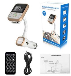 Universal remote control sUpport online shopping - BT67 Bluetooth Car Kit MP3 Player Handsfree Wireless FM Transmitter Radio Adapter With LCD Remote Control For iphone samsung SmartPhone
