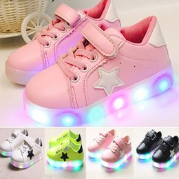 $enCountryForm.capitalKeyWord Canada - LED Light Shoes Sneakers Kids Children Boys Girls Colorful Flash Shoes Flat Shoes Trainers Casual Shoes Running Shoe Anti Slip Shoes WX-C08