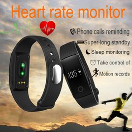 Wholesale Fitbit Life WaterProof Smartwatch ID107 Smart Bracelet Bluetooth 4.0 Heart Rate Monitor Fitness Tracker Sports Wrist for Android IOS 7.1