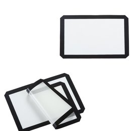 China Non-stick Silicone Fiberglass Baking Mat Kitchen Tools Platinum Silicone Dough Mat Pastry Tools Baking Sheet 11.6 X 16.5 Inches suppliers