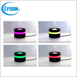 Aroma Night Light Wholesale Canada - Rainbow SPA Mist Ultrasonic LED Night Light Humidifier USB Aroma Diffuser Fragrance Sprayer Office Essential Oil Purifier