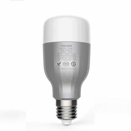 China Xiaomi Yeelight E27 Smart LED Bedside lamp Wireless Dimming Bedside Lamp Smart Home Lighting Colorful Bulb suppliers