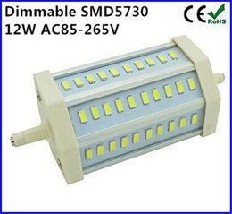Dimmable Energy Saving Bulbs Australia - Dimmable R7S LED bulb 12W SMD5730 30 leds r7s 118mm J118 LED bulb light energy saving halogen Lamps floodlight free shipping