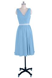 $enCountryForm.capitalKeyWord UK - New Designer A Line Fashionable Mini V Neckline Short Sexy Homecoming Dress Popular Bridesmaid evening dress Bridal party dress Prom gown