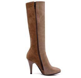 $enCountryForm.capitalKeyWord Canada - 2017 Western Style Winter Half Boots High Heel Thick Fur Women Boots Sexy Ladies Zipper Fashion Boots Free Shipping