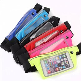 $enCountryForm.capitalKeyWord Canada - Universal Sport Waist Bag Running Fitness Belt Pouch Case Cell Phone Bag for 4-6.3inch Mobile Phone