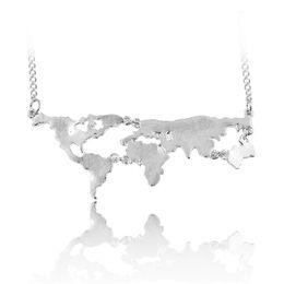 Shop world globe necklace uk world globe necklace free delivery to world globe necklace uk wholesale new fashion globe world map pendant necklace personality teacher student gumiabroncs Gallery
