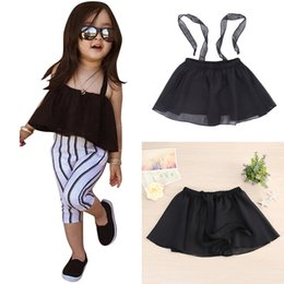 Barato Vestidos De Sol De Verão Por Atacado-Venda Por Atacado - Baby Girls Vestido de noiva Kids Infants Girl Roupa de Verão Gauze Suspender Dress Tops Children Clothes 2017 New Hot # LD789