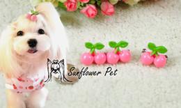 $enCountryForm.capitalKeyWord Canada - 2016 New Pet Dog Cat Hairpin Pet Hair Clips Grooming Accessories hair clip Cute little Cherry hairpin