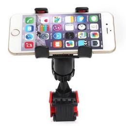 $enCountryForm.capitalKeyWord UK - 360 Degree Rotating Bike Bicycle Handlebar Phone Holder Stand Dual Mount Bracket For iPhone 6 Plus Galaxy S7 EDGE Outdoor GPS Navigator