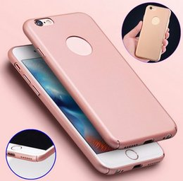 Types Iphone Cases Canada - Case Frosted Contracted type Silicone Plastic Phone Case for iPhone 6 6s Freeshipping
