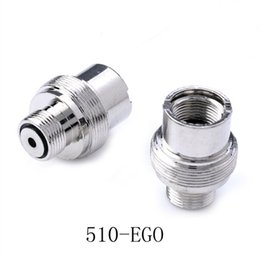 Screw adapterS online shopping - 510 to eGo Adapter E Cigarette Adapter battery to eGo screw threading Adapter eGo Converter Extender Electronic Cigarette